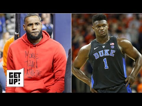 LeBron and Rich Paul watching Zion play at Duke is no big deal – Jalen Rose | Get Up!