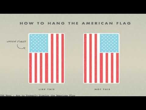 How To Properly Display The American Flag