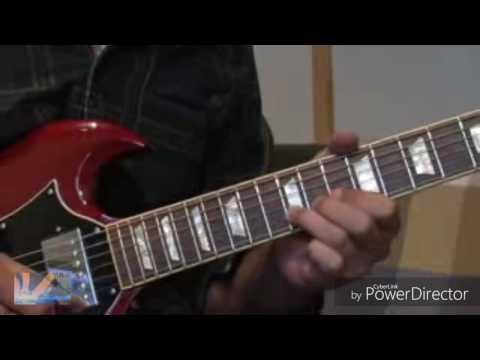 Tutorial Gitar Hysteria by Muse ( Dubbing SUROBOYOAN )