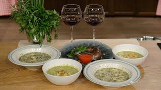 Песня грузинской кухни. Вып. 015. Суп из мацони. Купаты