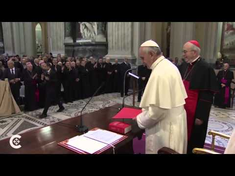 Pope Francis addresses Rome's priests