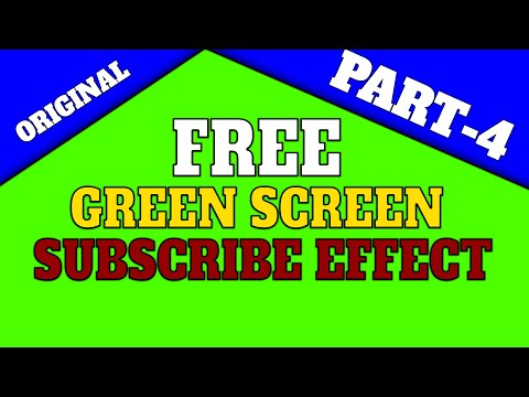 FREE GREEN SCREEN SUBSCRIBE EFFECT | PART-4