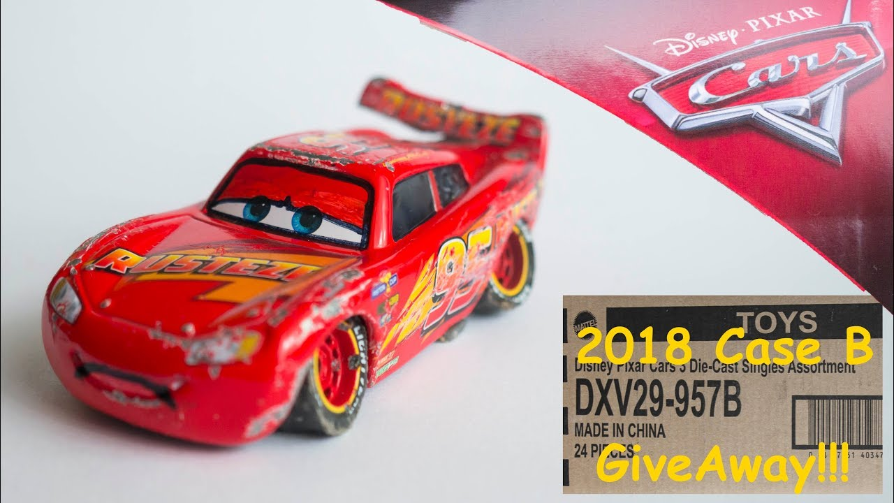 Diy Custom Cars 3 Damaged Crashed Rusteze Lightning Mcqueen Disney