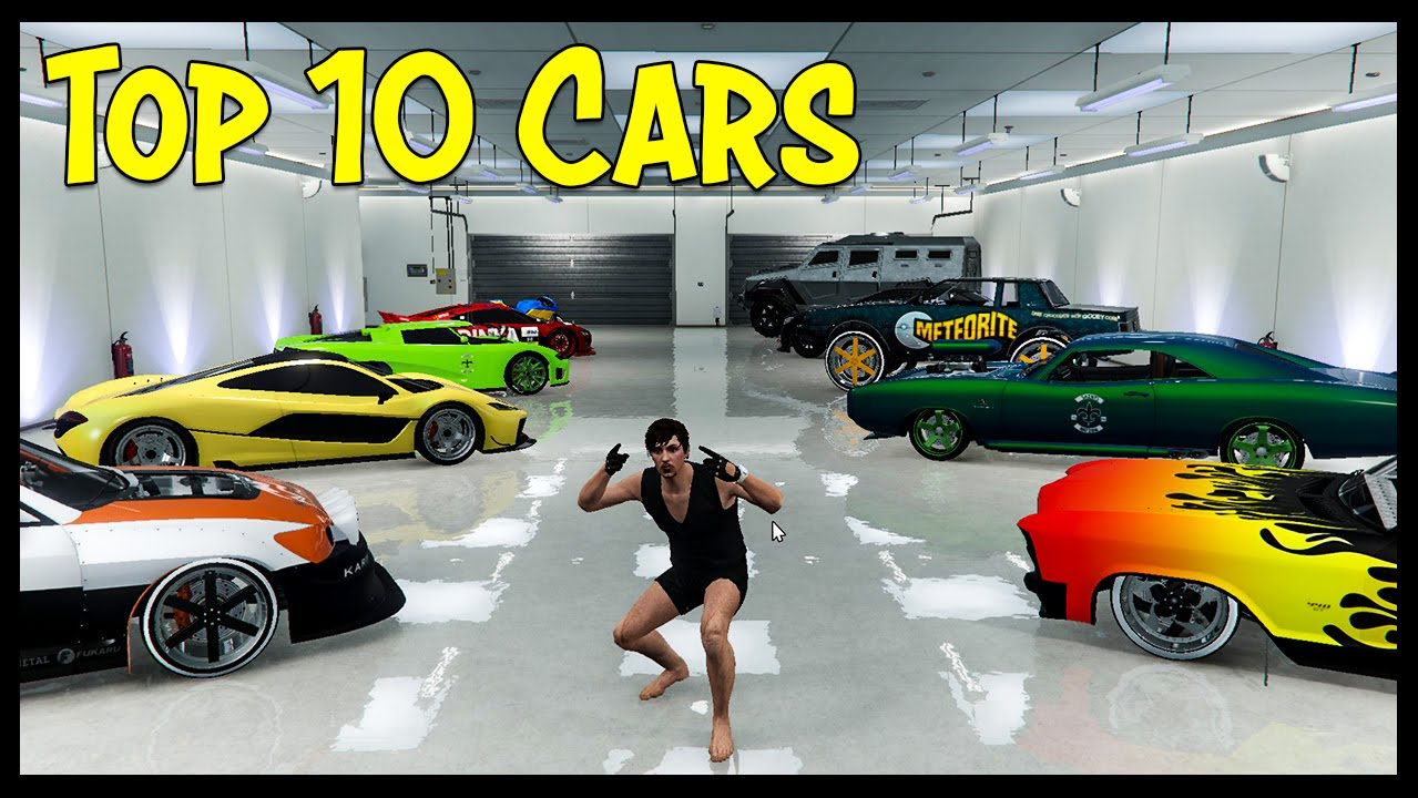 Top 10 Cars in GTA Online! - YouTube