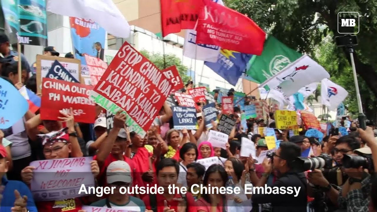 Chinese President's visit unwelcome among Filipino activists