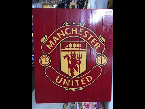 Manchester United Wall Art - YouTube