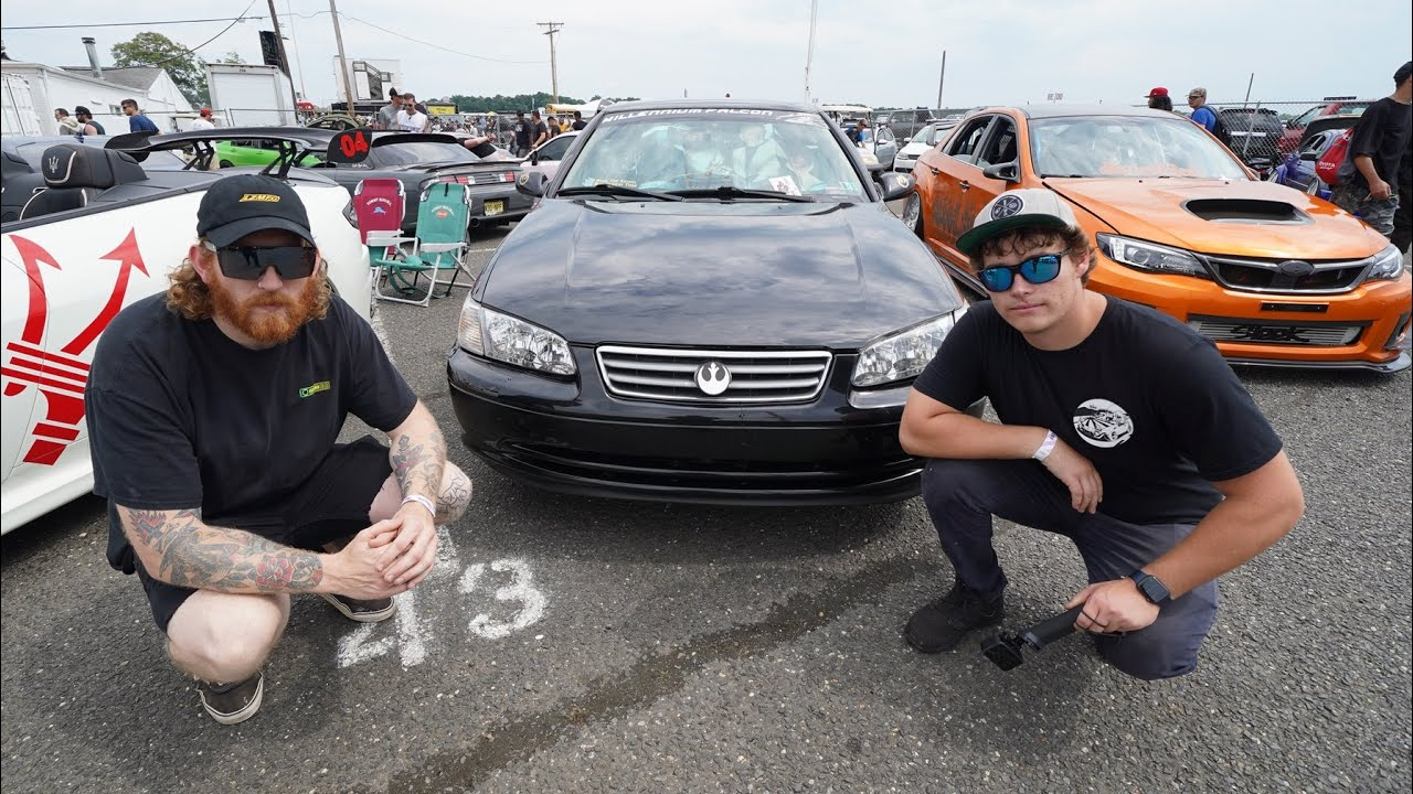 ROASTING CARS AT FORMULA D WITH RUDNIK!