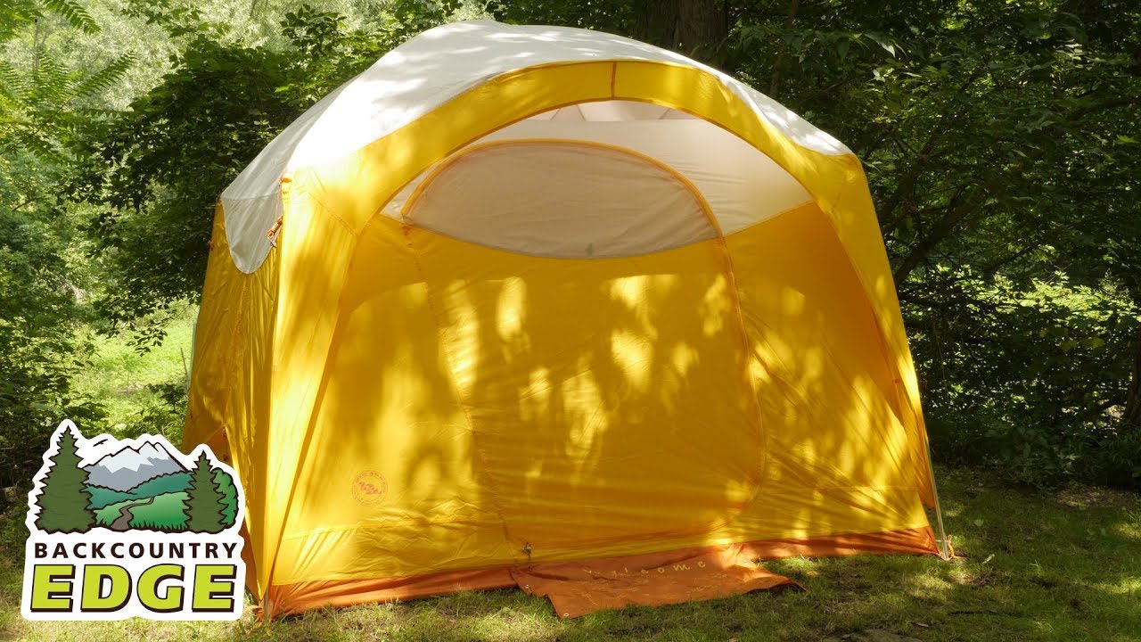 Big Agnes Big House 6 Deluxe 3-Season C&ing Tent & Big Agnes Big House 6 Deluxe 3-Season Camping Tent - YouTube