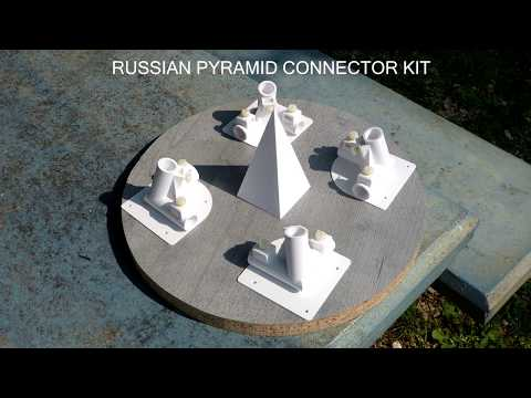 DIY Russian pyramid with connector kit