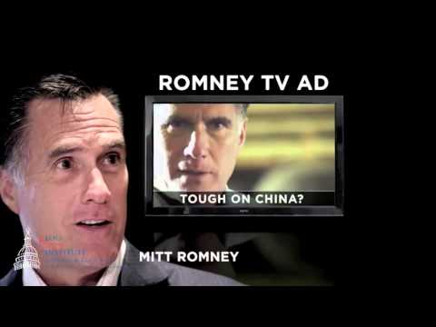 How candidates use televised campaign advertisements in an effort to persuade voters