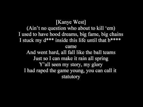 Creatures Lie Here Monsters Lyircs ~ Lil Wayne, Kanye West, Drake, Eminem