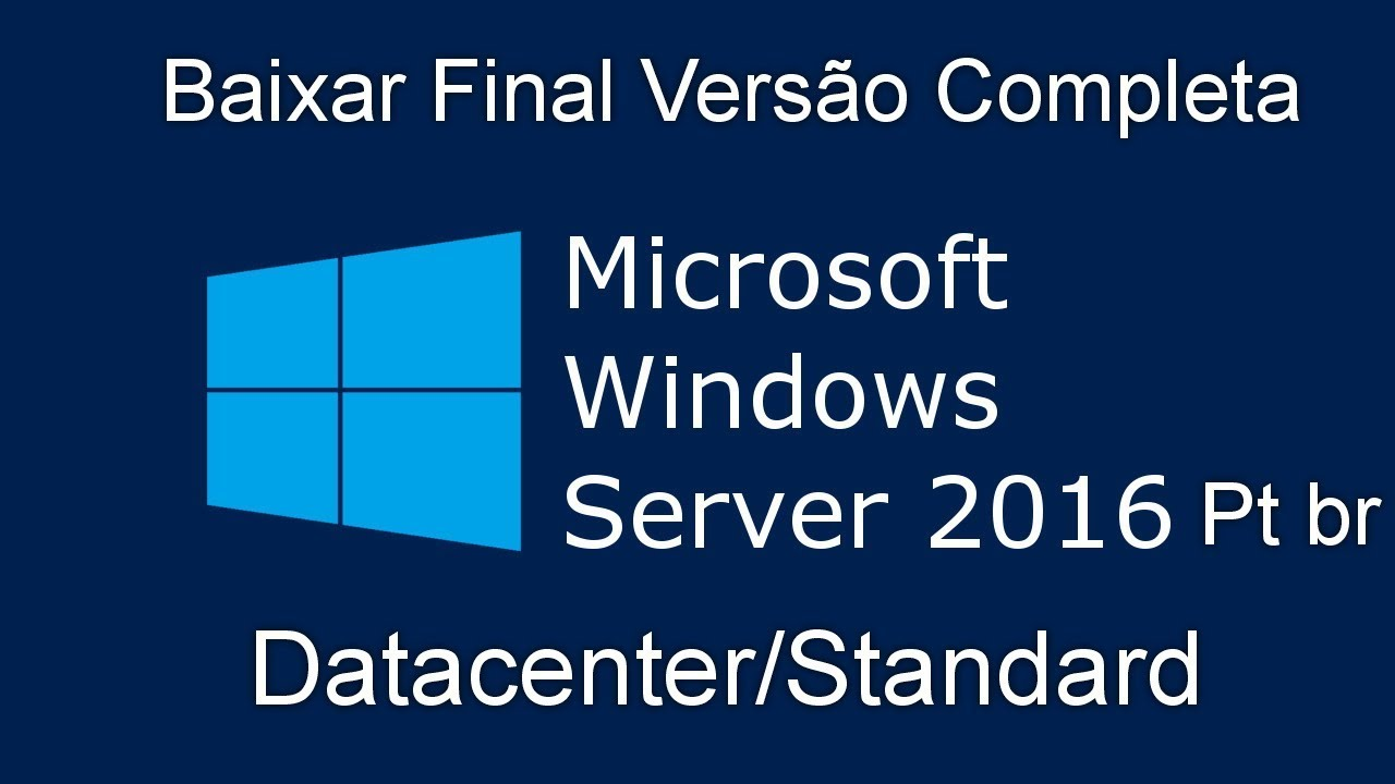 download windows server 2016 standard iso