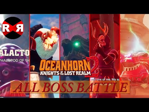 All Boss Battle - Oceanhorn 2: Knights Of The Lost Realm