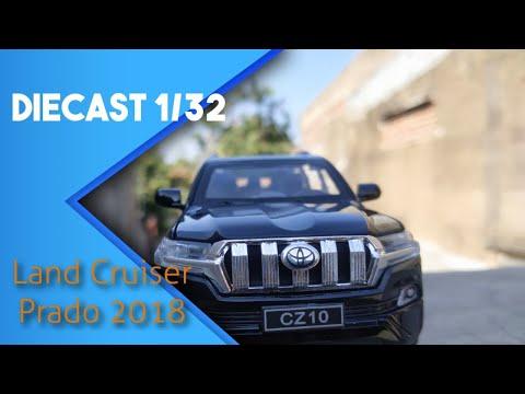 Review Diecast Toyota Land Cruiser Prado 2018 1:32 Scale Model Car