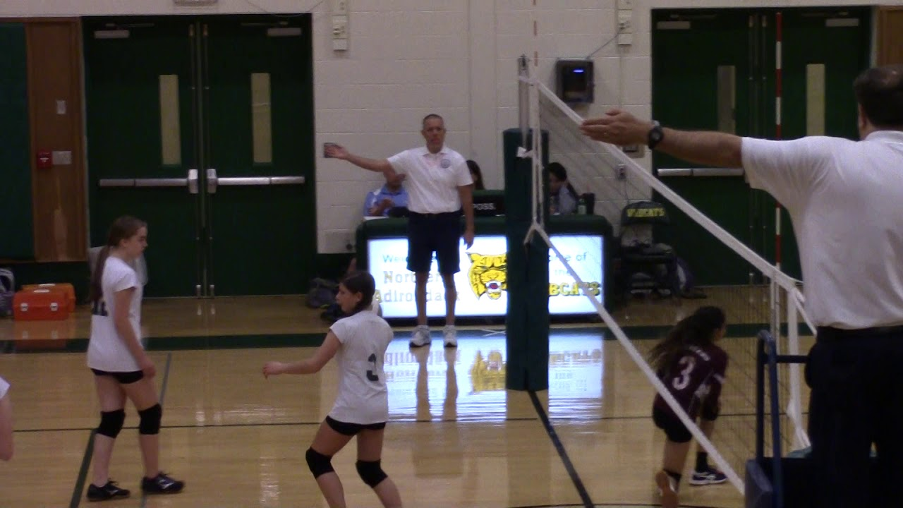 NAC - NCCS JV Volleyball  10-22-19