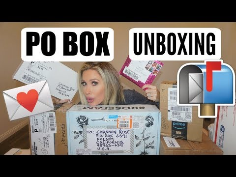 BEST PO BOX UNBOXING EVER!!!