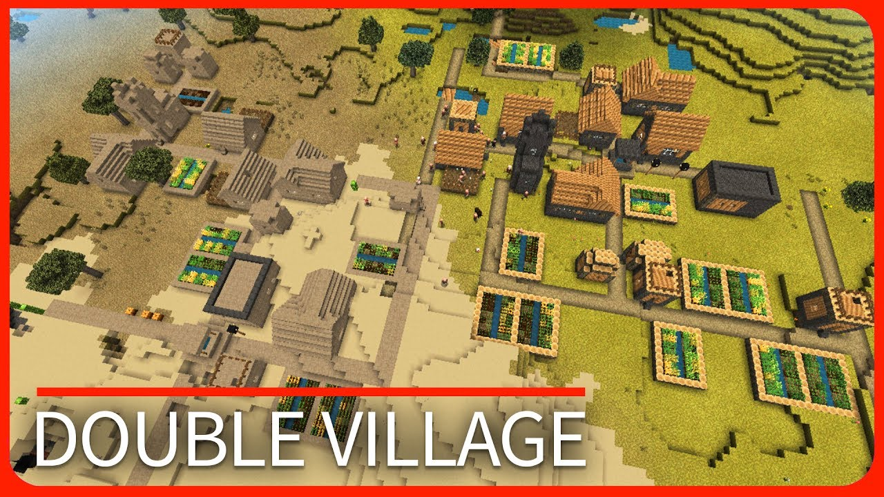 Minecraft PE Seeds - DOUBLE VILLAGE with Stronghold - Best Seeds MCPE 1111111111111111.1111111111111111.11111111  / 1111111111111111.1111111111111111