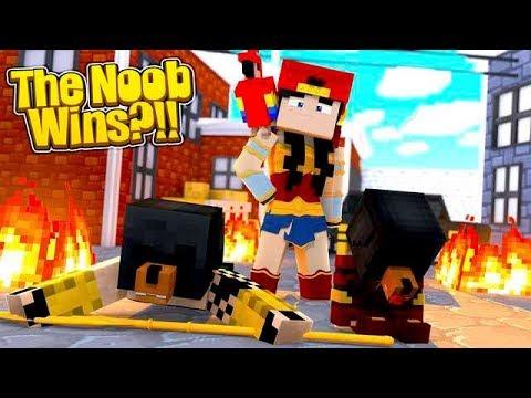 Minecraft Mirage Wars - THE NOOB WINS!!!