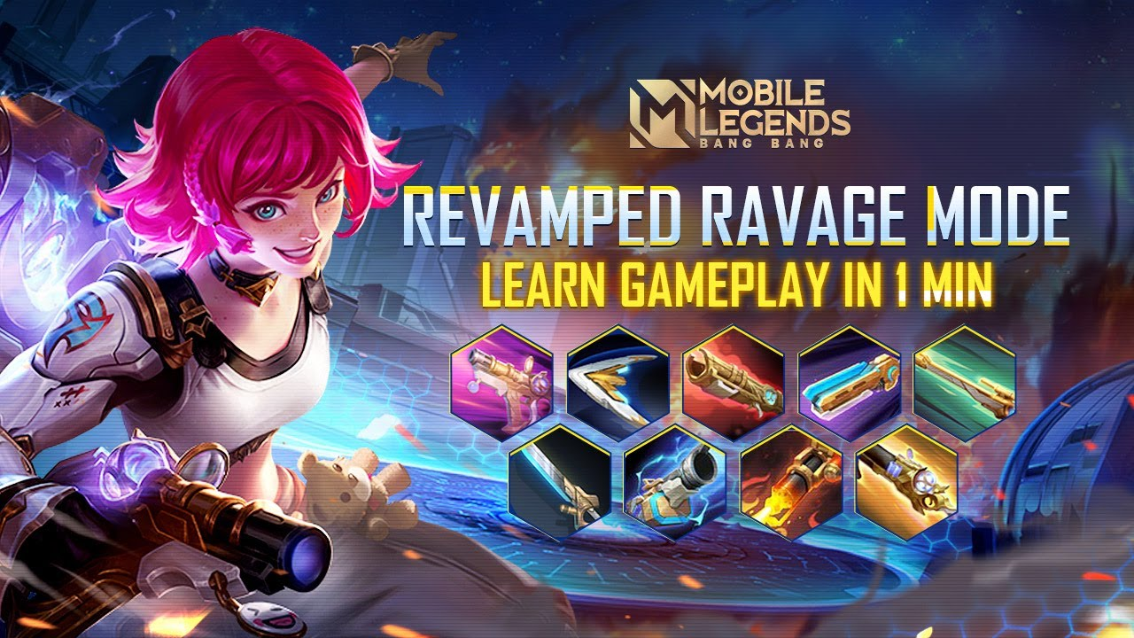 New Ravage Mode Gameplay | New Mode | Mobile Legends: Bang Bang