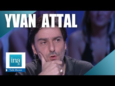 """Yvan Attal """"Interview Schtroumpf"""" - Archive INA"""