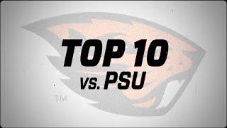 Top 10: Oregon State vs. Portland State