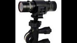 full hd 1080p dv mini waterproof sports camera bike helmet action dvr video cam test