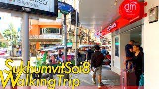 Bangkok Sukhumvit Soi8 / Walking Trip / for short-term travelers