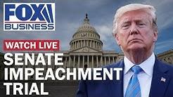 Trump impeachment trial in the Senate | Day 1