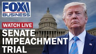 Trump impeachment trial in the Senate | Day 1