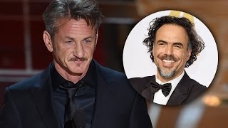 Sean Penn Disses Alejandro Iñarritu with Racist Comment - 2015 Oscars