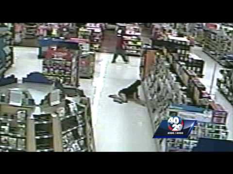 CAUGHT ON CAMERA: Walmart shopper hit with baseball bat in random attack