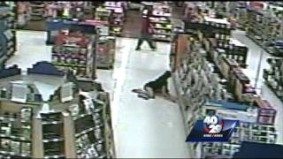 caught on camera walmart shopper hit with baseball bat in random attack