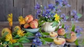 Натюрморты. Натюрморт с цветами и фруктами(Натюрморты. Натюрморт с цветами и фруктами. Мир искусственной реальности - это натюрморт. Он открывает мир..., 2016-05-17T08:06:23.000Z)