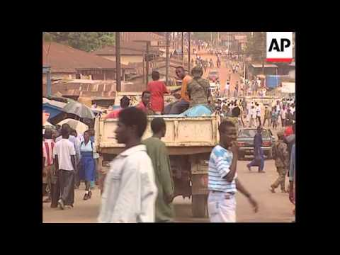 Sierra Leone - Rebels Cause Terror