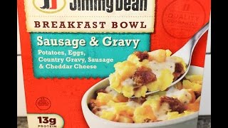 Jimmy Dean Sausage & Gravy Breakfast Bowl Review