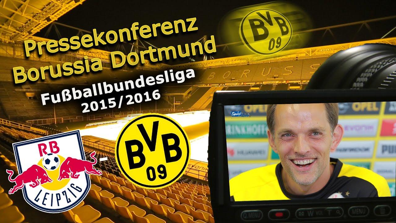 RB Leipzig - Borussia Dortmund: Pressekonferenz des BVB mit Thomas Tuchel