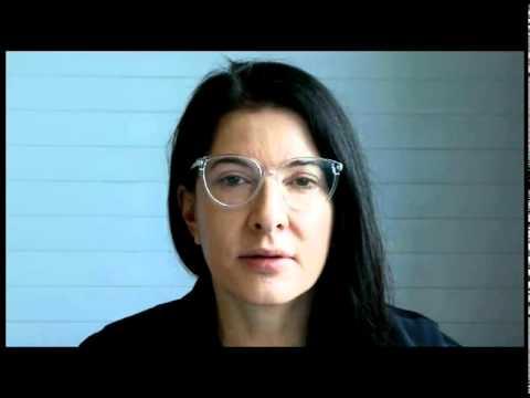 Video Portrait of Hans Ulrich Obrist by Marina Abramović