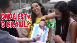 Os americanos mal conhecem o Brasil? #gringonarua 🇺🇸🇧🇷