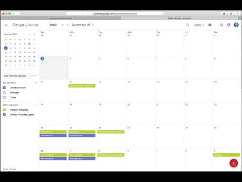 Calendar with CSS Grid - Snook ca