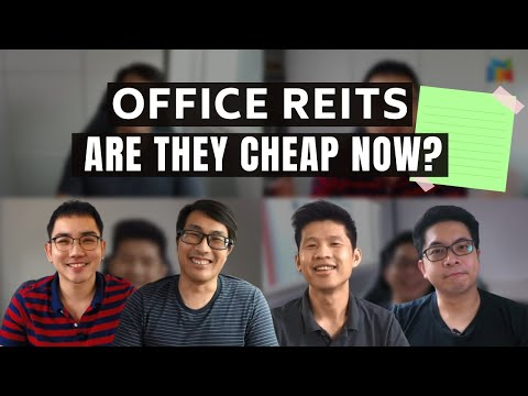 Are Singapore Office REITs Cheap Now?