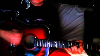Poison Ivy ~ The Coasters - The Rolling Stones - The Lords ~ Acoustic Cover w/ Framus Texan