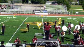 Bayonne High School Marching Band at US Bands Competition in Pequannock