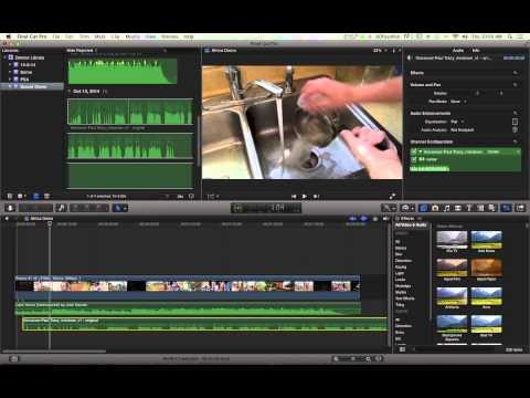 Final Cut Pro X: Adding Audio Files & Balancing Volume