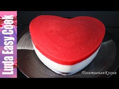 Торт на День Святого Валентина - Valentines Day Cake Recipes - Bánh hình Trái Tim