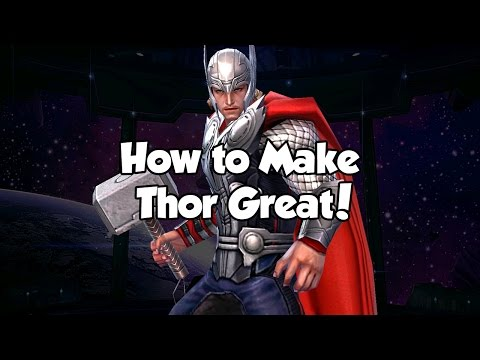 [Marvel Future Fight] How to Make Thor Great!