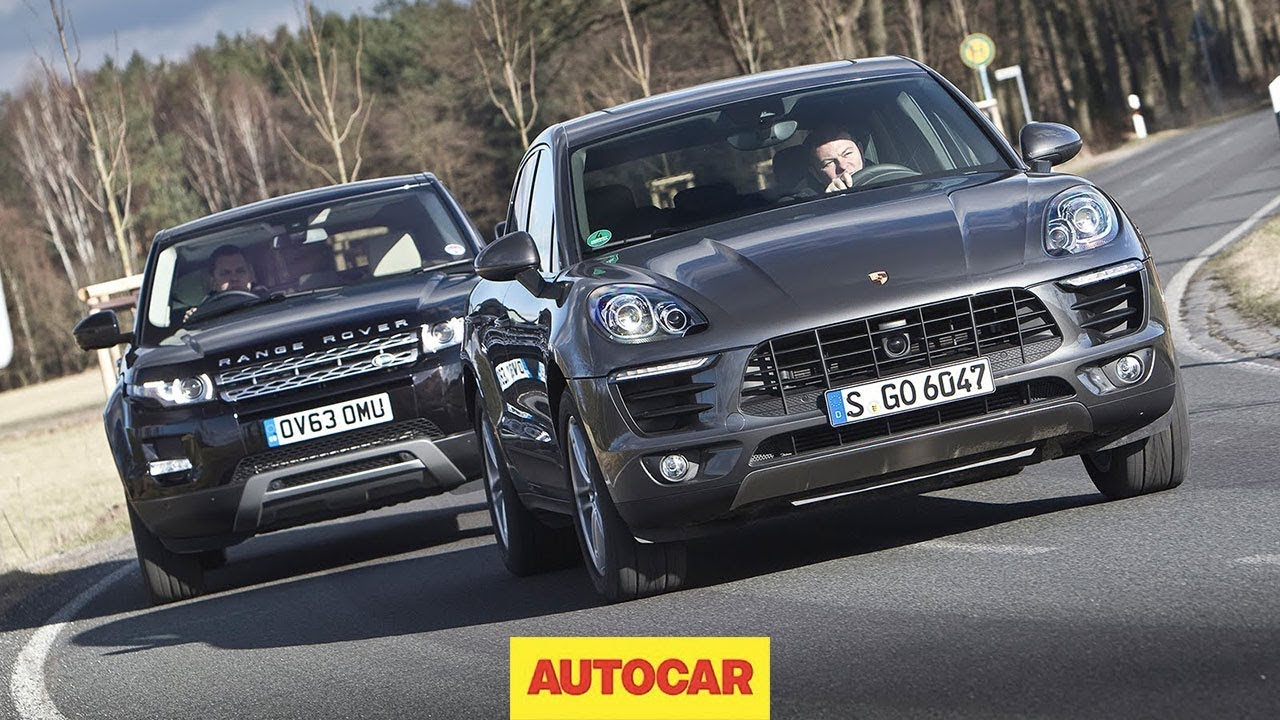 Porsche macan vs range rover evoque one of these is the best small suv in the world youtube