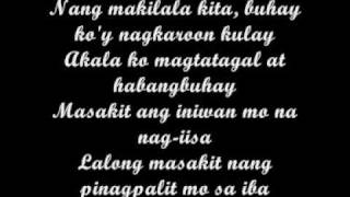 Lyrics - Bulag sa Katotohanan by Kawago