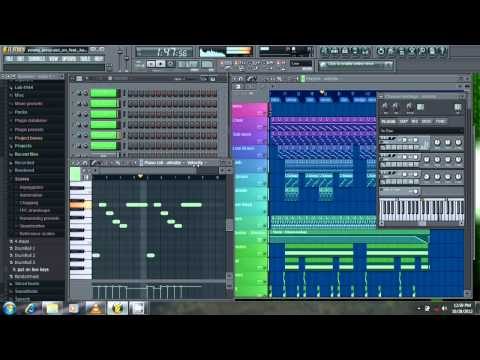 Young Jeezy   Put on ft  Kanye West Dida Steez Remake + FLP FL Studio 10