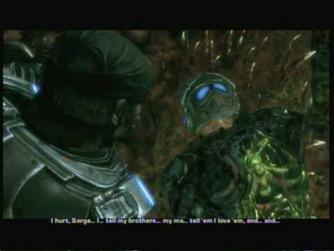 Gears Of War 2 Carmines Death YouTube