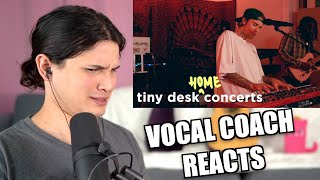 Download Vocal Coach Reacts to Justin Bieber: Tiny Desk - How His Voice Changed